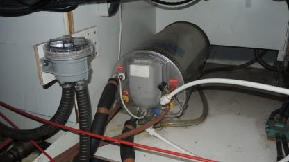 Kühlwasser-Filter und Boiler