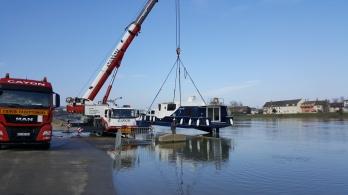 fast wieder auf der Saône