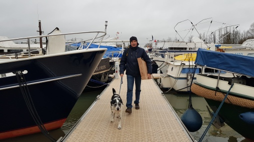 Janusz als Posthund