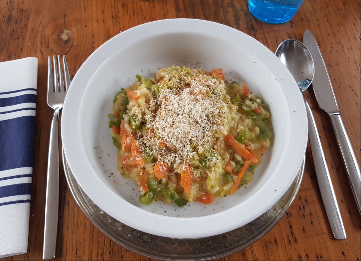 Bordküche: Gemüse-Risotto