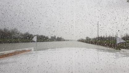 Ich glaub'es regnet!