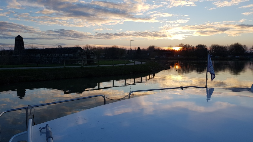 Sicht auf die Saône