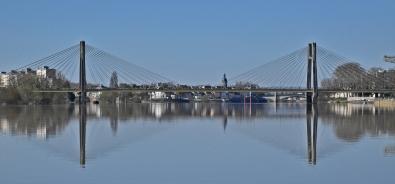 Erste Brücke in Chalon-sur-Saône