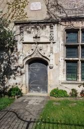 Gotischer Eingang