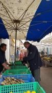 Austernverkäufer aus der Bretagne
