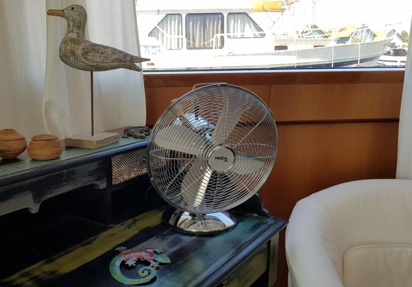 Der neue Ventilator (japanisch, made in China)