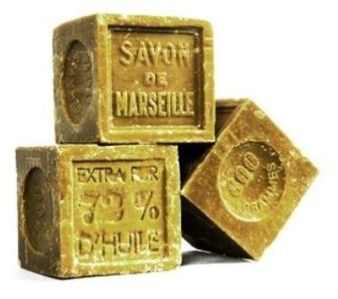 Echte Seife von Marseille - natürlich und völlig abbaubar