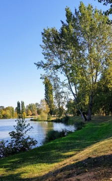 romantische Uferwege