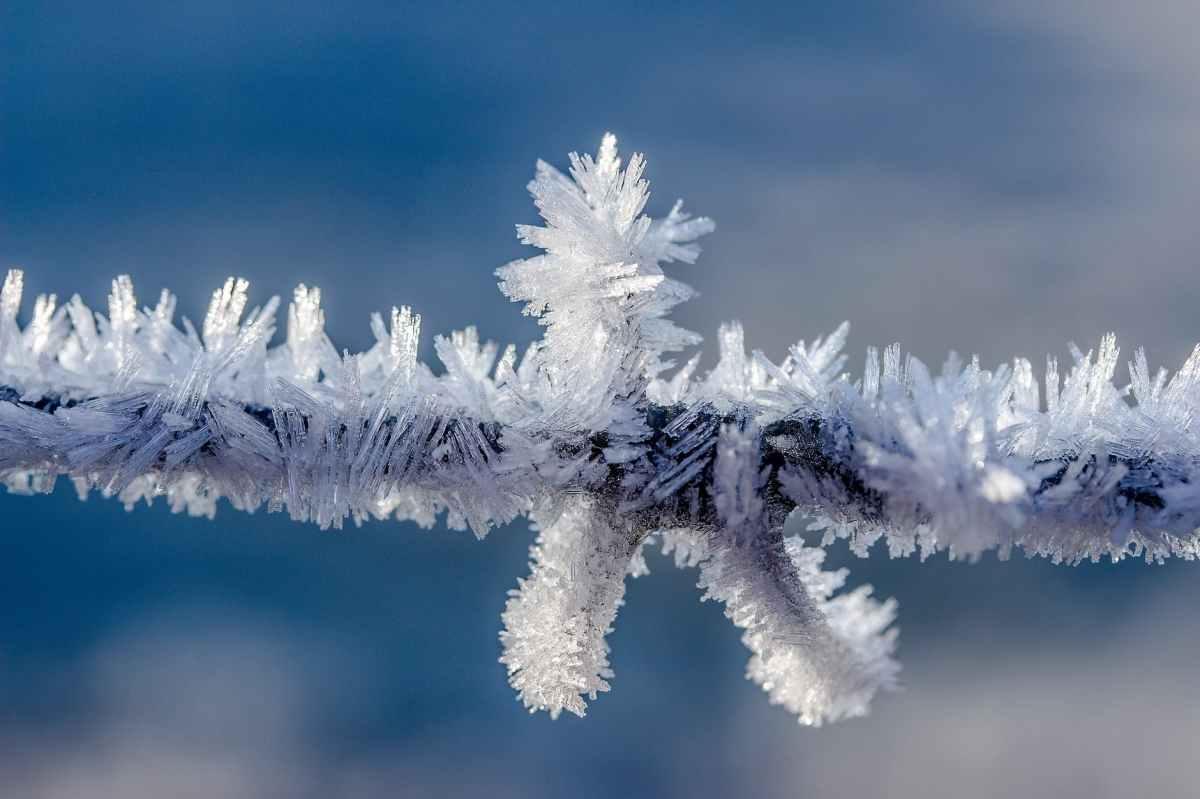 Bei Frost keinWasser