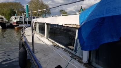 ein Holzboot erträgt Vernachlässigung schlecht