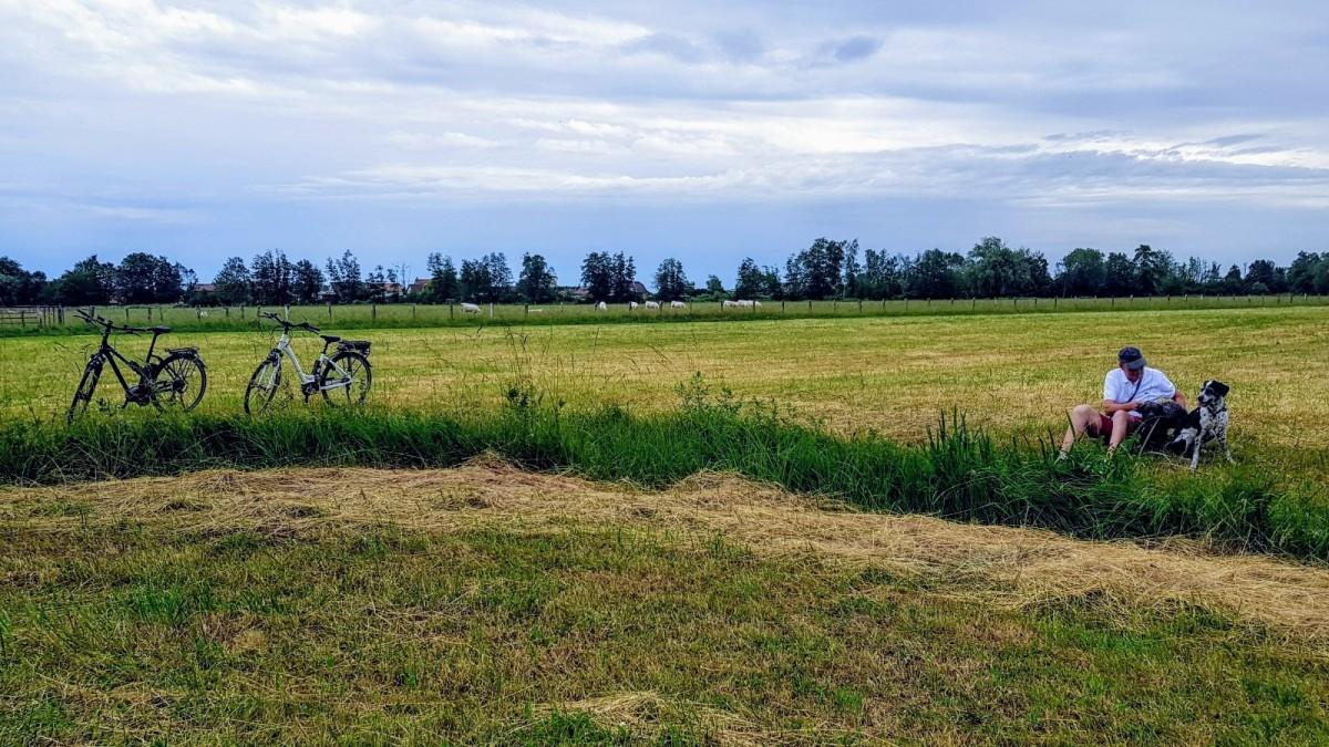 Radtour zu viert