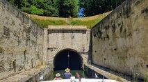 Der Tunnel ist schnurgerade