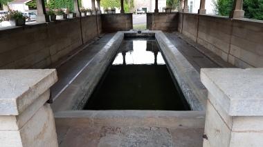 Das Waschhaus von Membrey