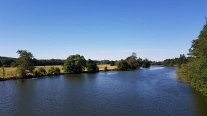 Nicht befahrbarer Teil der Saône