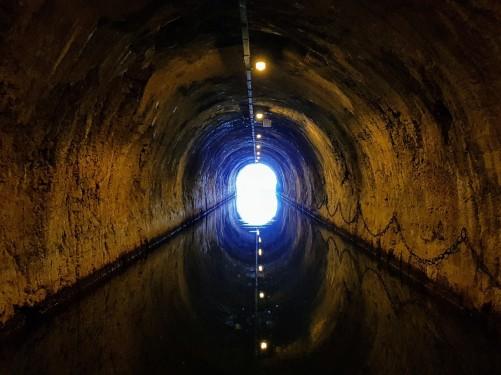 Wir sind bald raus aus dem Tunnel