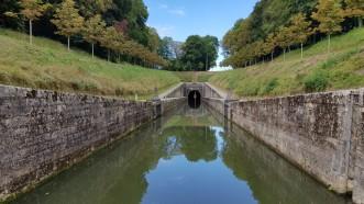 nördliche Einfahrt in den Tunnel von Savoyeux