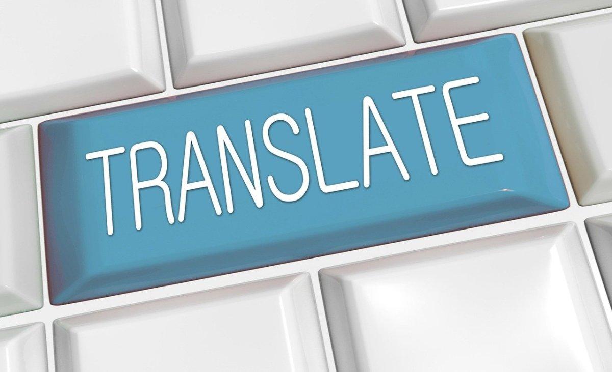 Übersetz doch gleichmal!