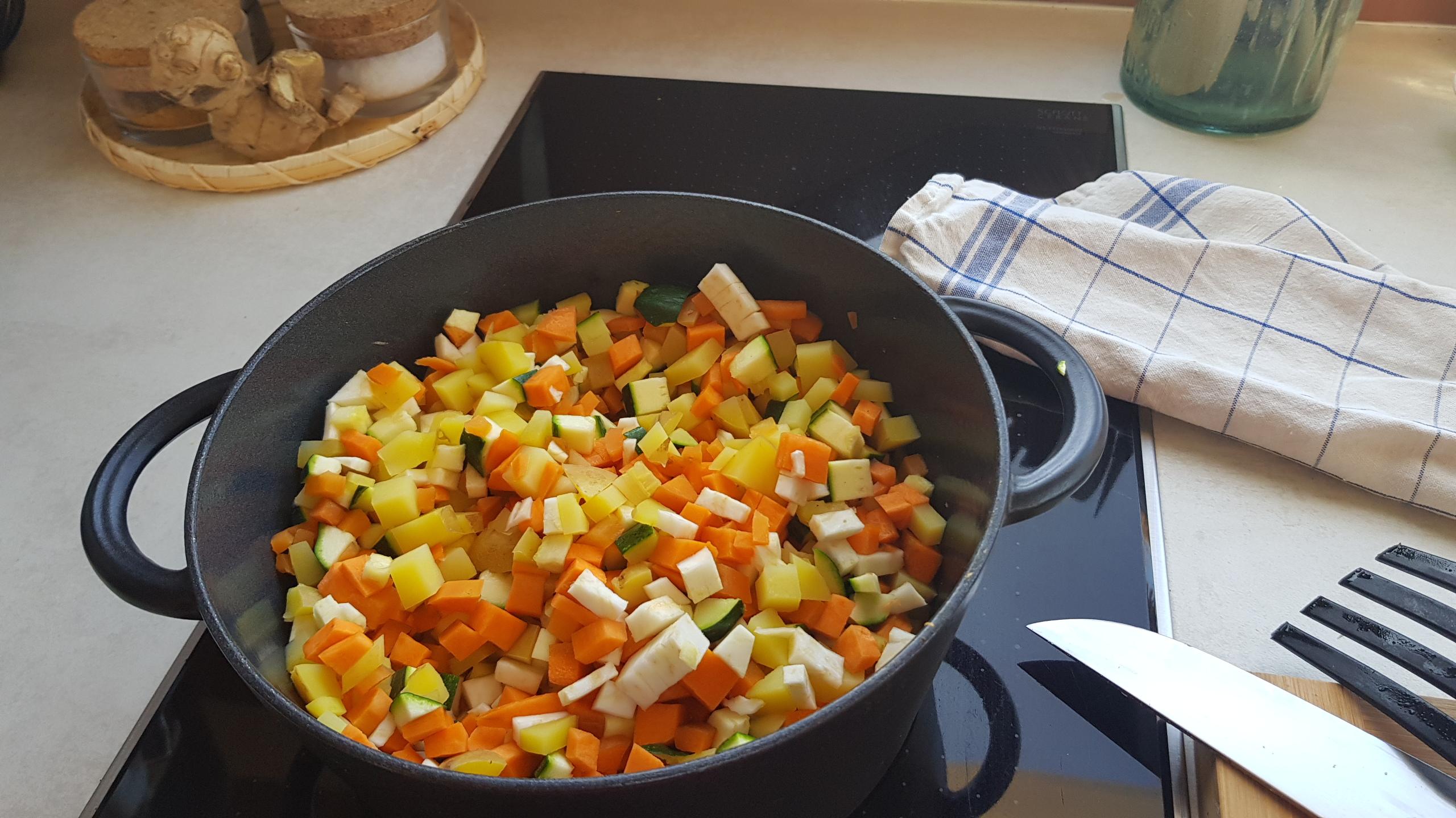 Futter kochen für unsere vierbeinigen Gemüsefreaks