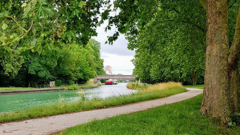 Der Kanal beim Englischen Garten