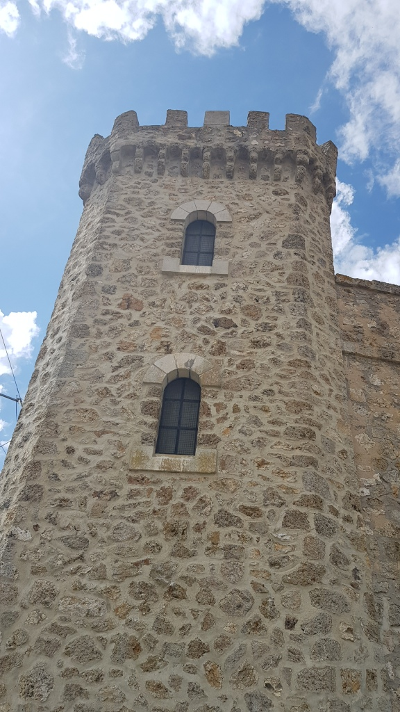 Man könnte meinen, eher ein Rapunzel-Turm als ein Pumpenhaus