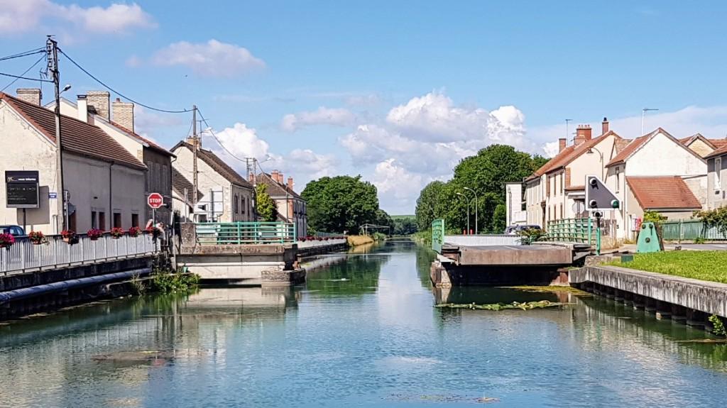 Die Schwenkbrücke von Bisseuil