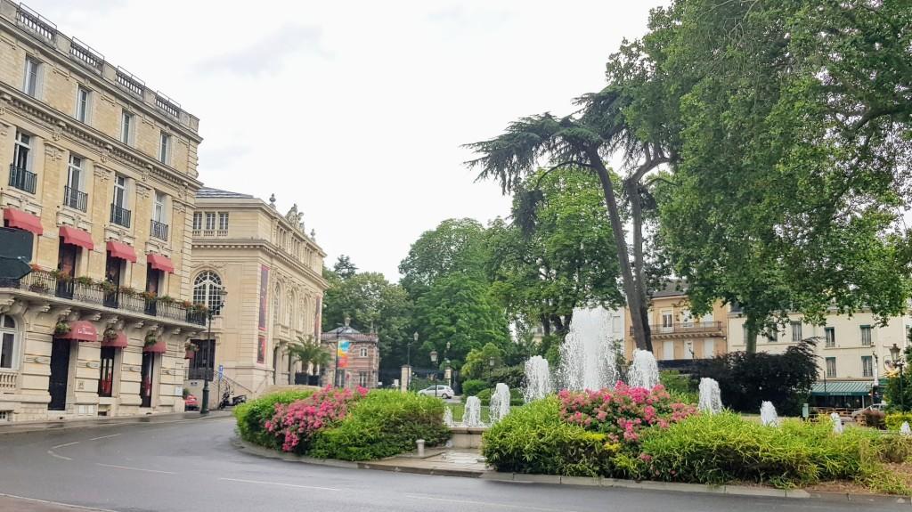 Platz mir Park in Epernays Innenstadt