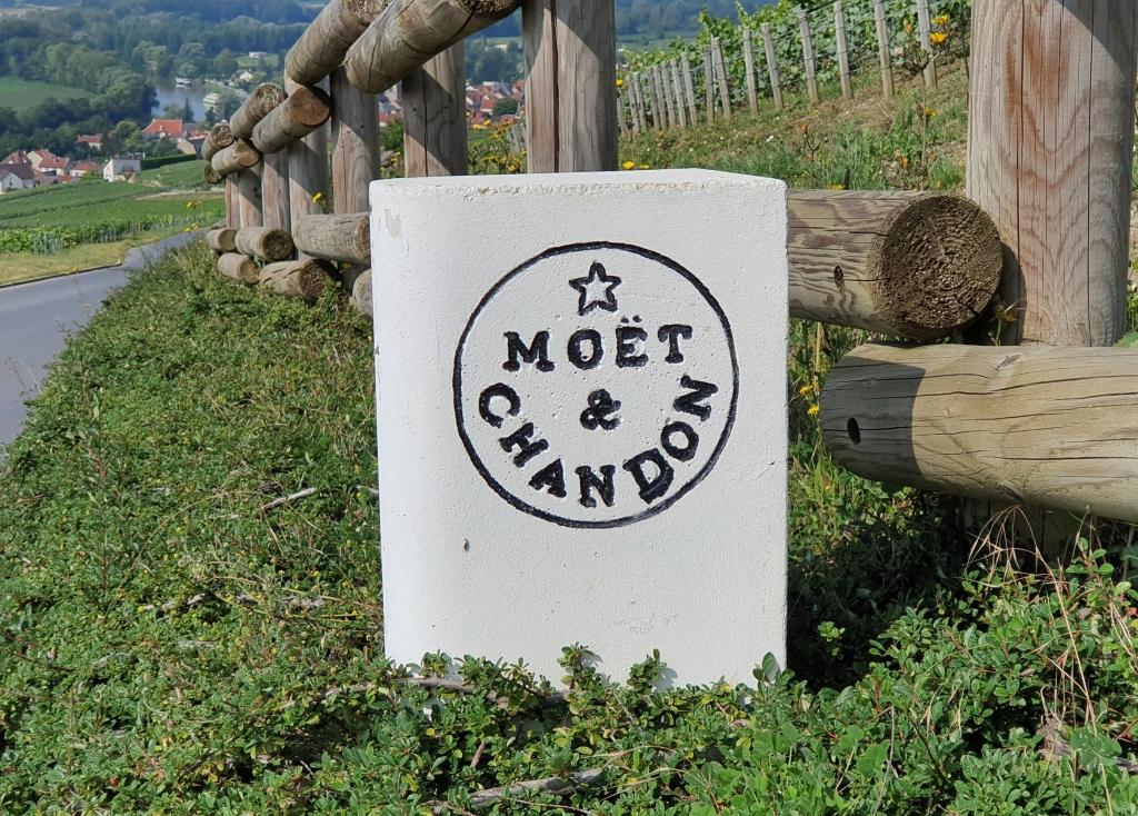 Moêt & Chandon, nur einer der bekannten Champagnernamen