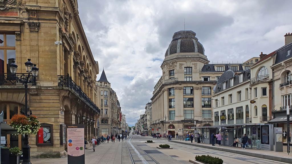 Prachtsstrasse in Reims