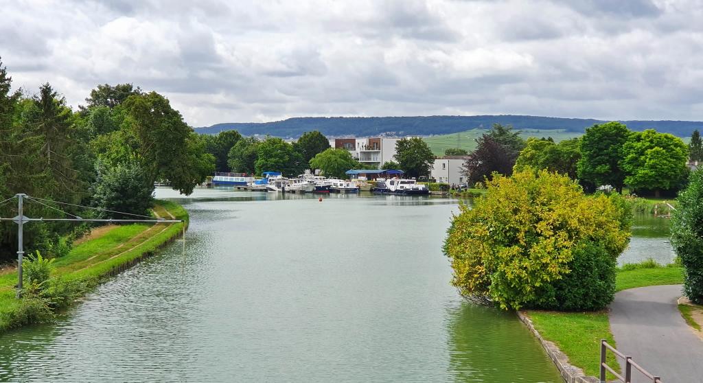 Der Hafen von Sillery