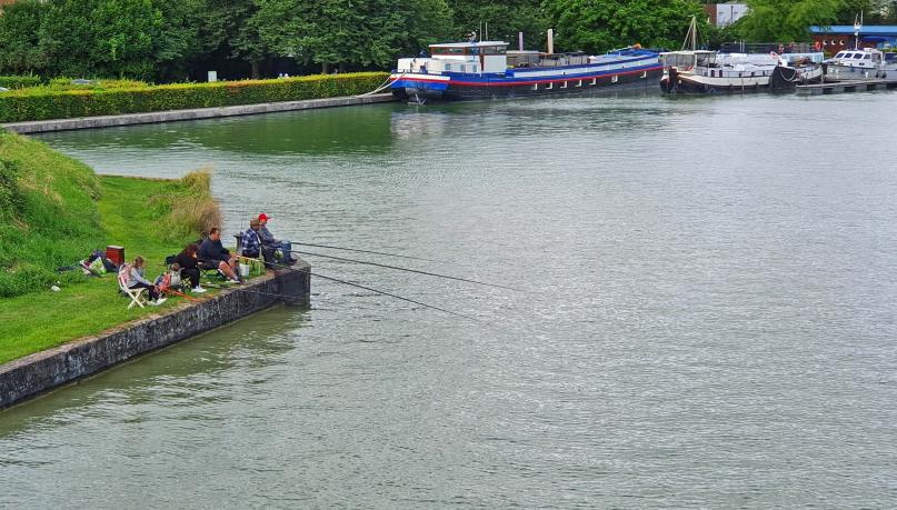 Fischer in Frankreich - so typisches Bild!
